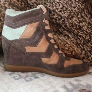 Sam Edelman Bennett Wedge Sneaker - LEFT SHOE ONLY